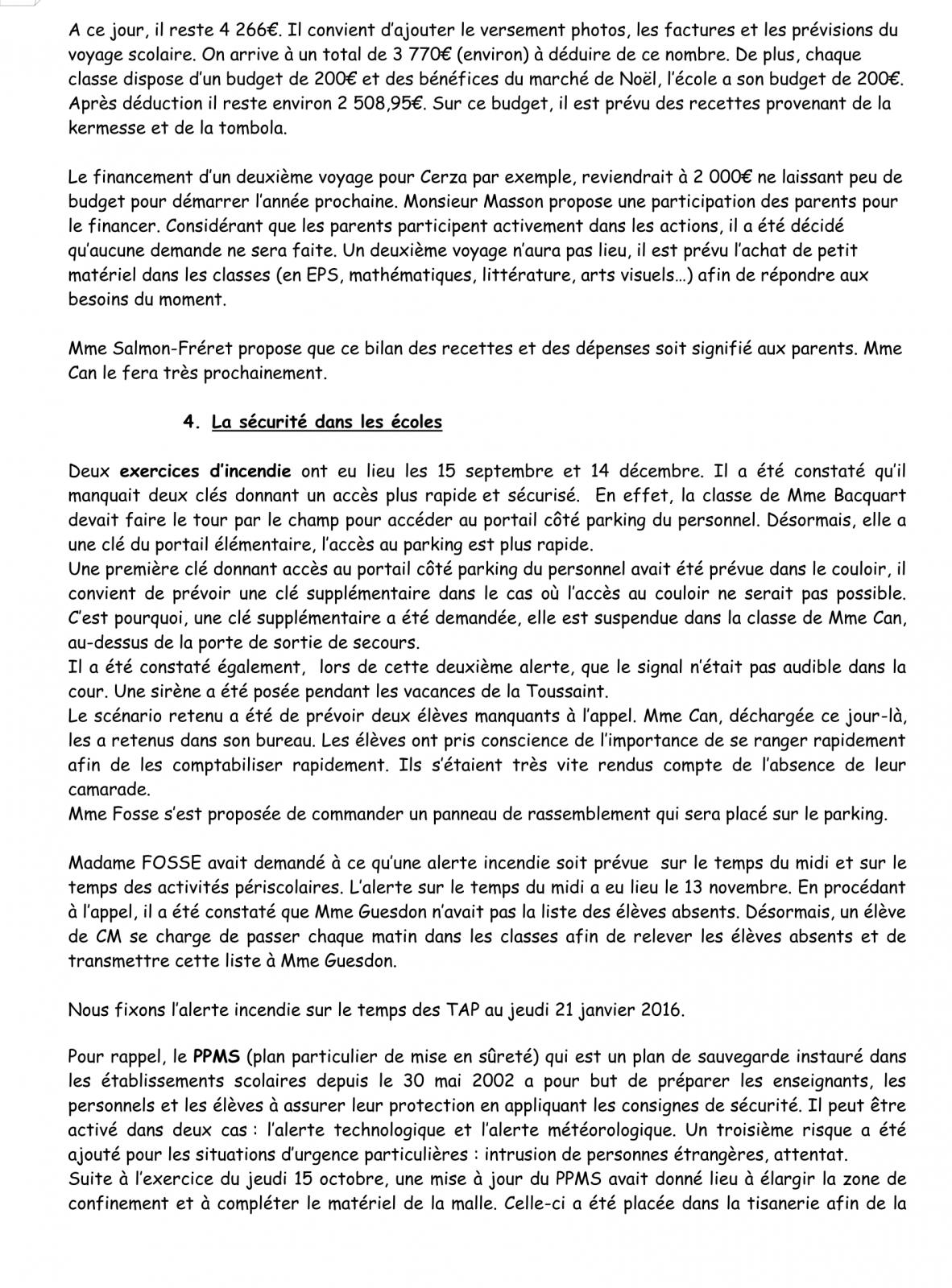 PV Conseil d'école 16 Janvier 2016 Page 3