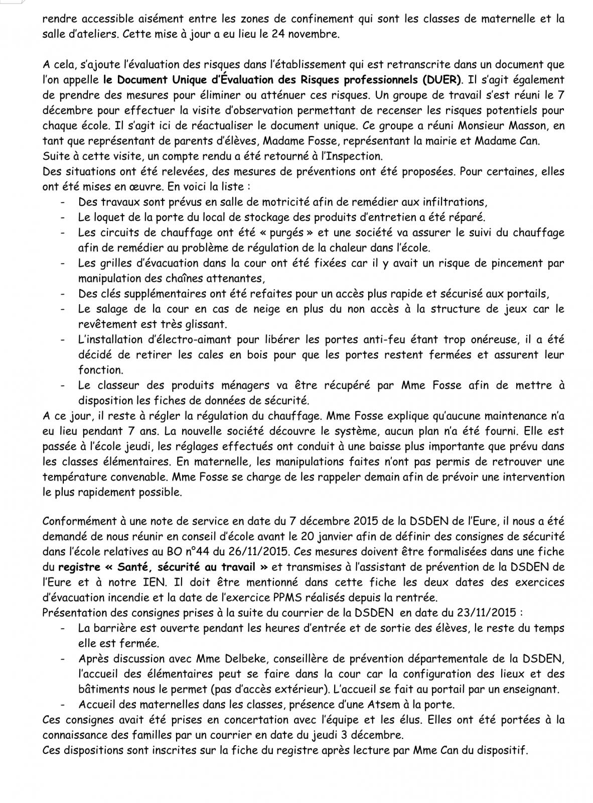 PV Conseil d'école 16 Janvier 2016 Page 4