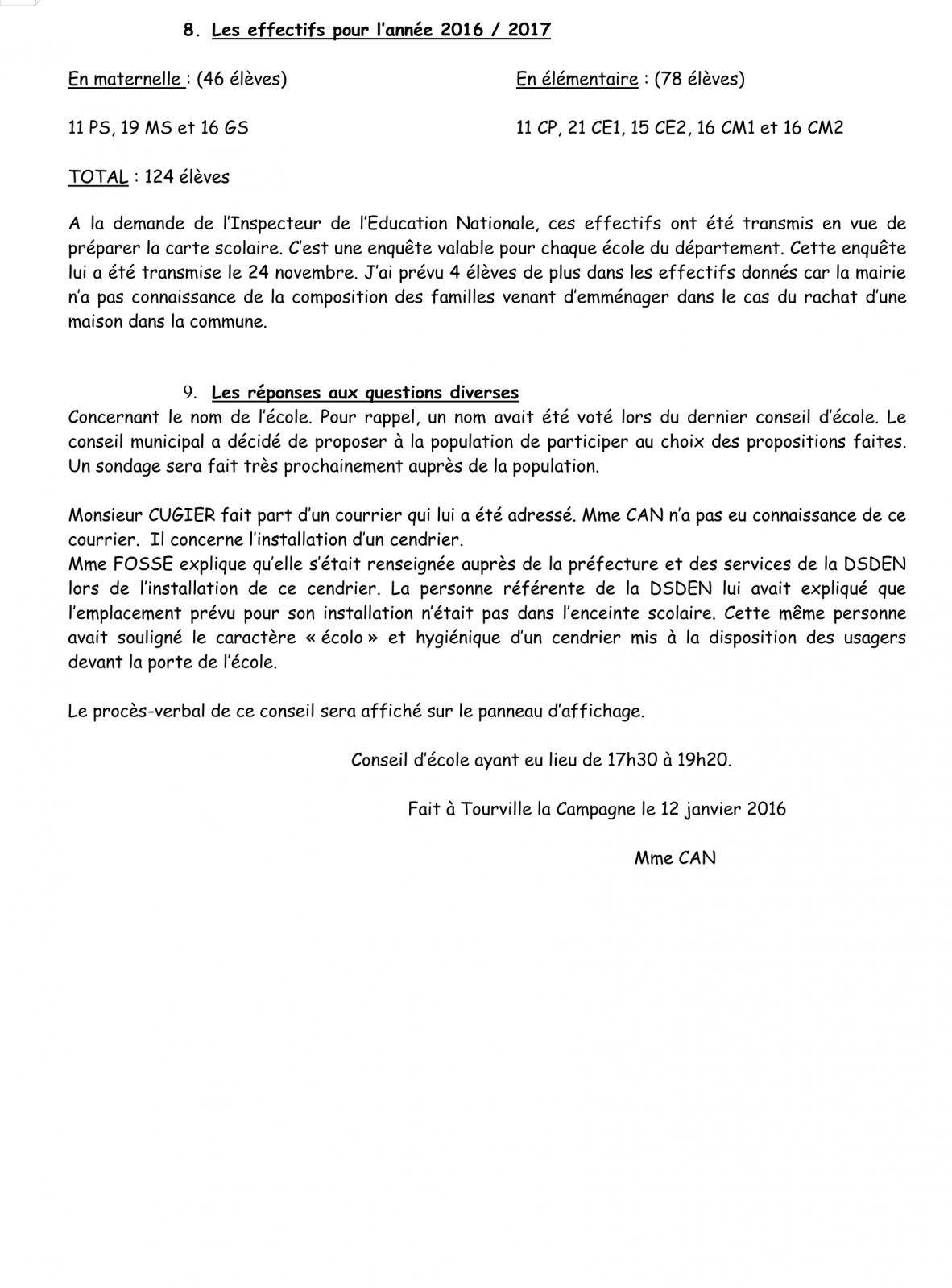 PV Conseil d'école 16 Janvier 2016 Page 7