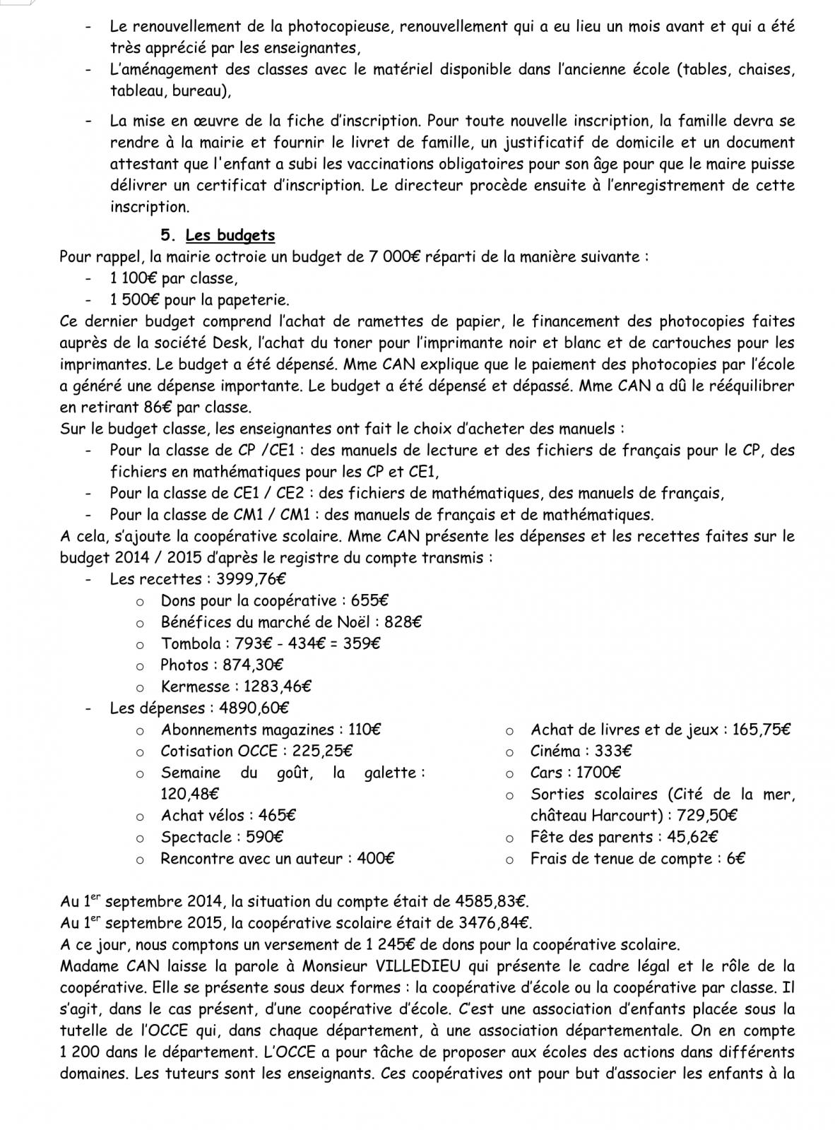 PV Conseil d'école 16 Novembre 2015 Page 3