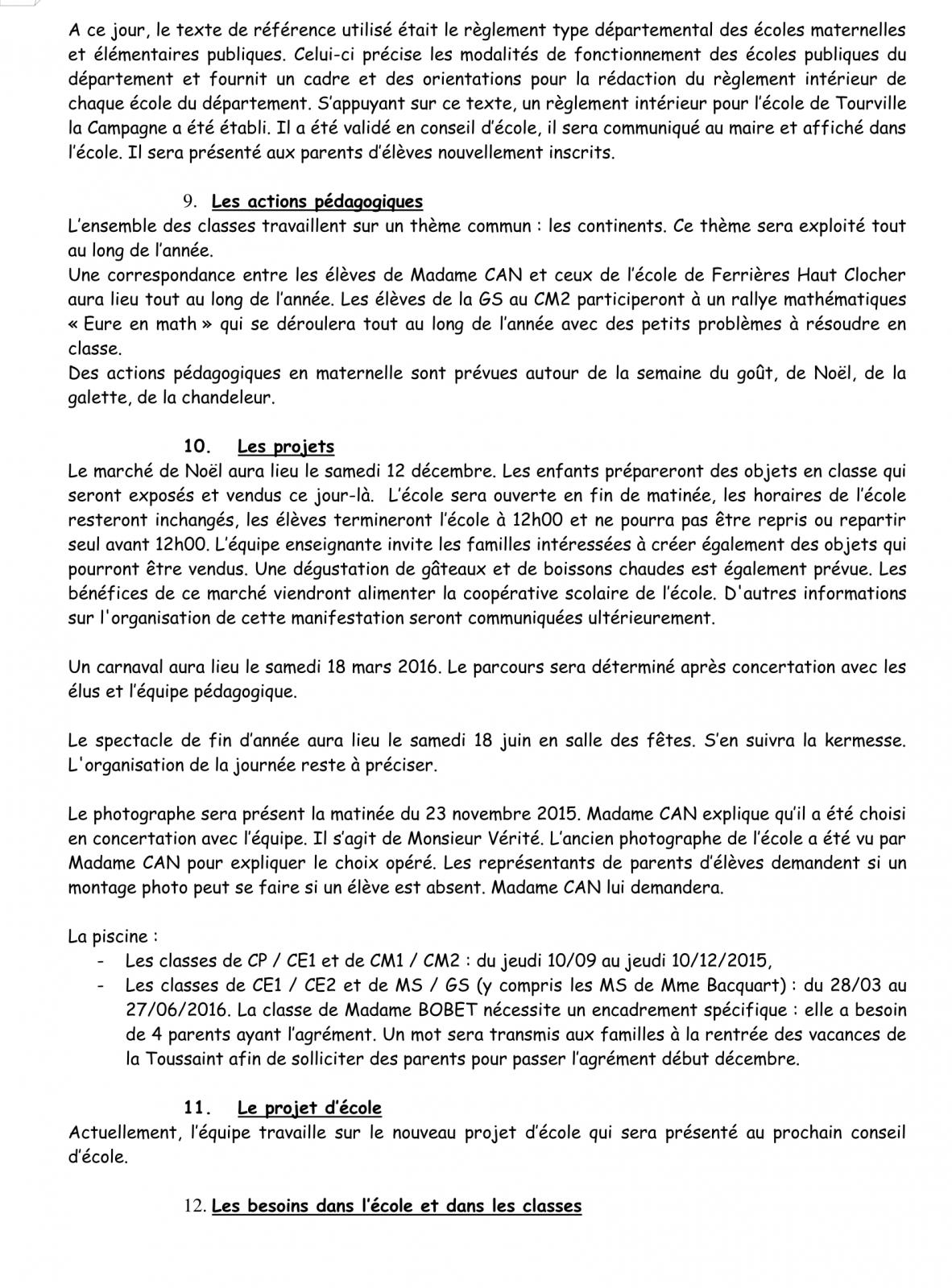 PV Conseil d'école 16 Novembre 2015 Page 6