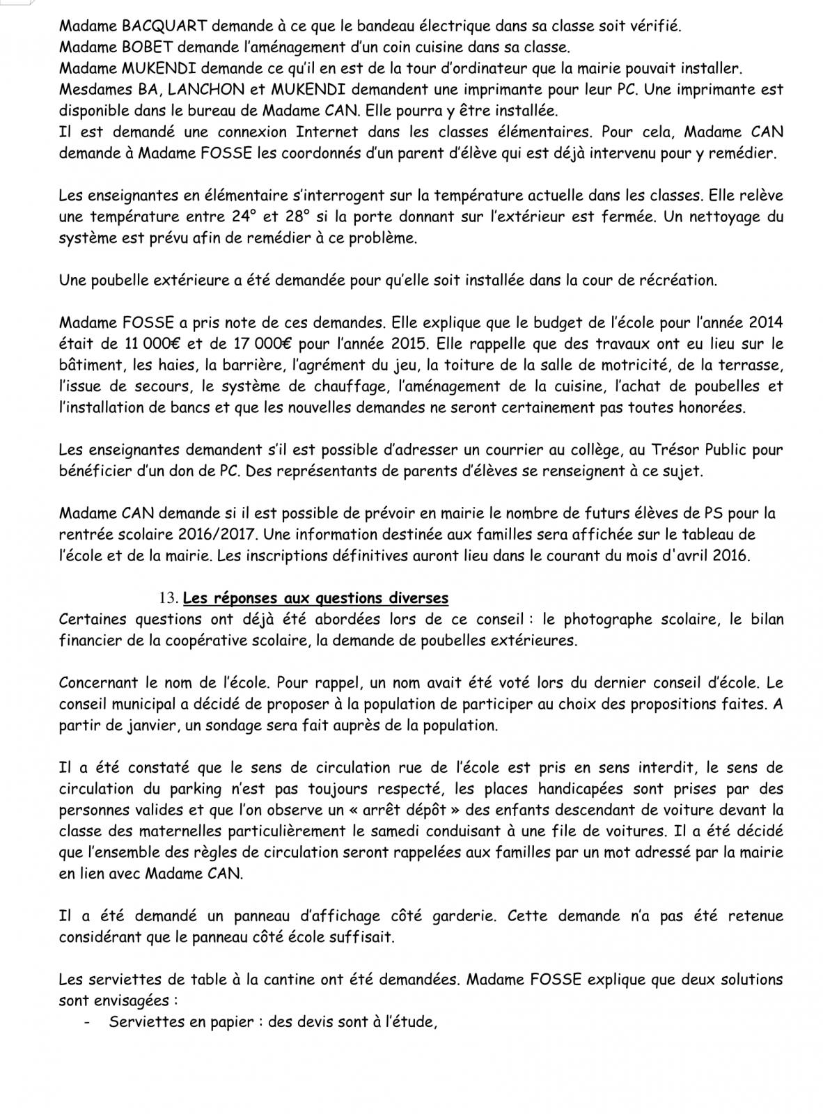PV Conseil d'école 16 Novembre 2015 Page 7