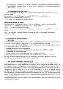 Conseil D ECOLE 20 OCTOBRE 2017-2