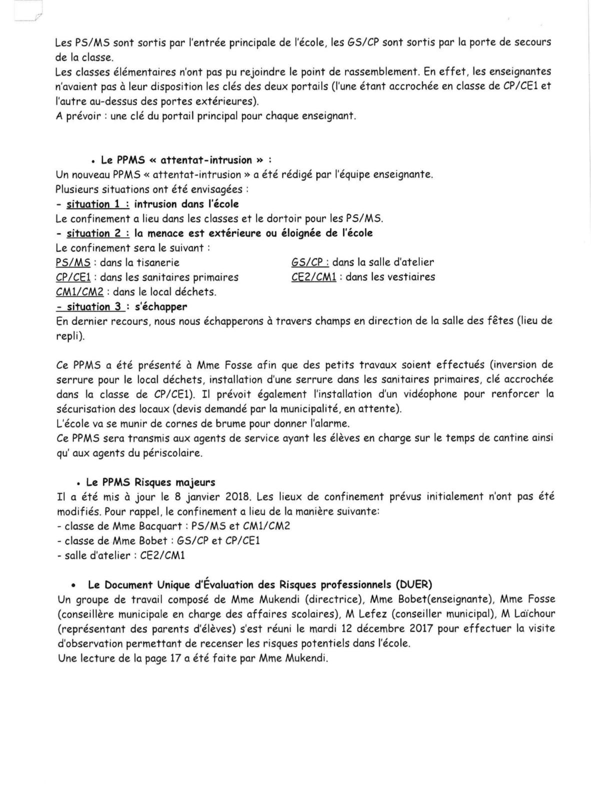 CONSEIL D ECOLE DE TOUVILLE LA CAMPAGNE 23 JANVIER-2