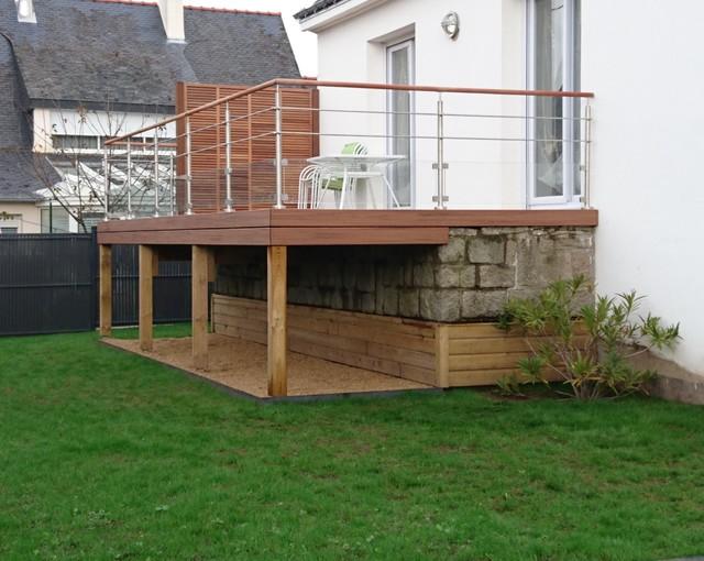 Populaires Quelle demande pour construire une terrasse? | Tourville la Campagne LO49