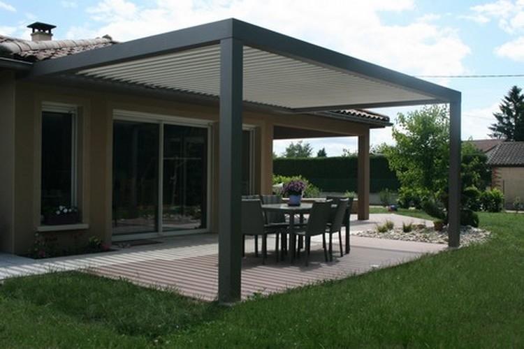 Super Quelle demande pour construire une terrasse? | Tourville la Campagne LI-54